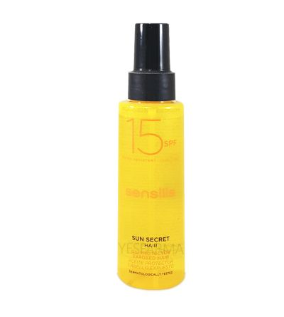 SENSILIS SUN SECRET HAIR PROTECTOR SOLAR SPF 15 ACEITE CABELLO 100ML