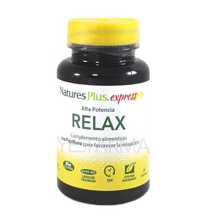 NATURE´S PLUS EXPRESS RELAX 30 COMP
