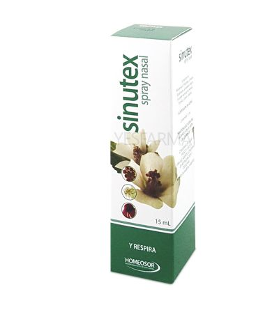 HOMEOSOR SINUTEX SPRAY NASAL 15ML