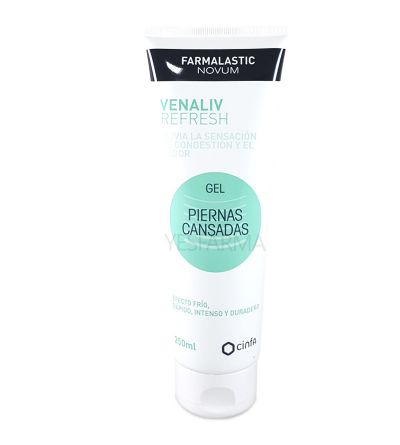 FARMALASTIC NOVUM VENALIV REFRESH GEL PIERNAS CANSADAS 250 ML