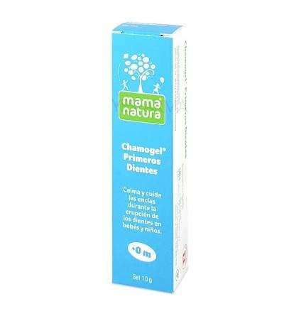 DHU chamogel primeros dientes gel dental niños 10g