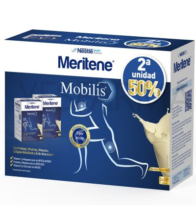 Comprar Meritene Mobilis Vainilla pack.