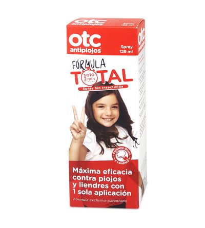 OTC ANTIPIOJOS Spray FORMULA TOTAL 125 ML