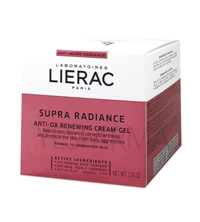 LIERAC SUPRA RADIANCE GEL-CREMA RENOVADOR ANTI-OX 50 ML