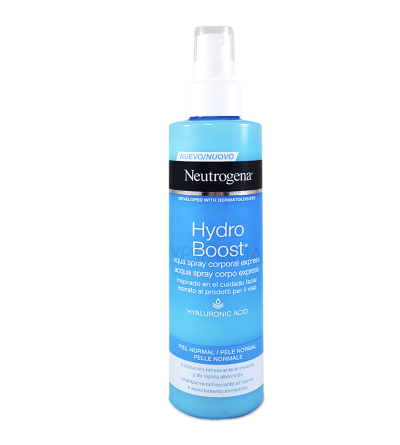 NEUTROGENA HYDRO BOOST AQUA SPRAY CORPORAL 200 ML