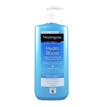 NEUTROGENA HYDRO BOOST LOCION CORPORAL GEL 400 ML