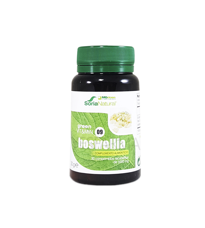 Comprar Boswellia Soria Natural MGdose 30 comprimidos. El mejor precio BOswellia Soria Natural Farmacia Yesfarma.