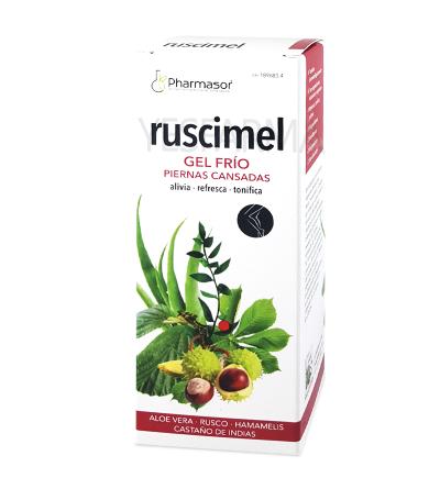 RUSCIMEL GEL FRIO PIERNAS CANSADAS 200ML PHARMASOR