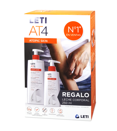LETI AT-4 Leche corporal Pack
