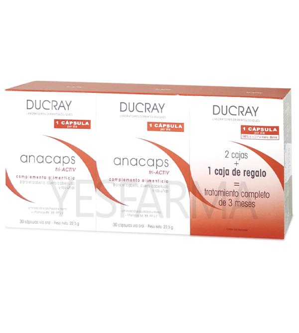Ducray Anacaps tri-activ cápsulas caída del cabello