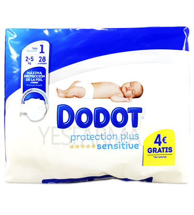 DODOT SENSITIVE T1 2-5KG 28U
