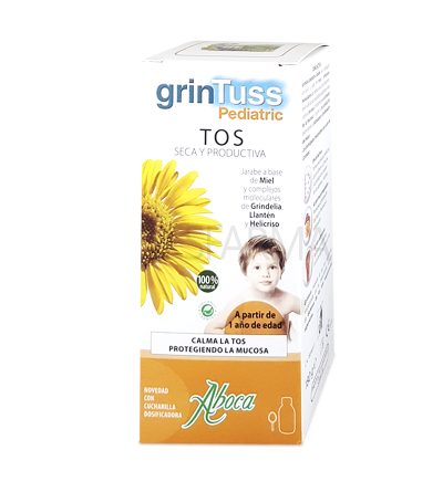 GRINTUSS PEDIATRIC Jarabe Natural Aboca 180g