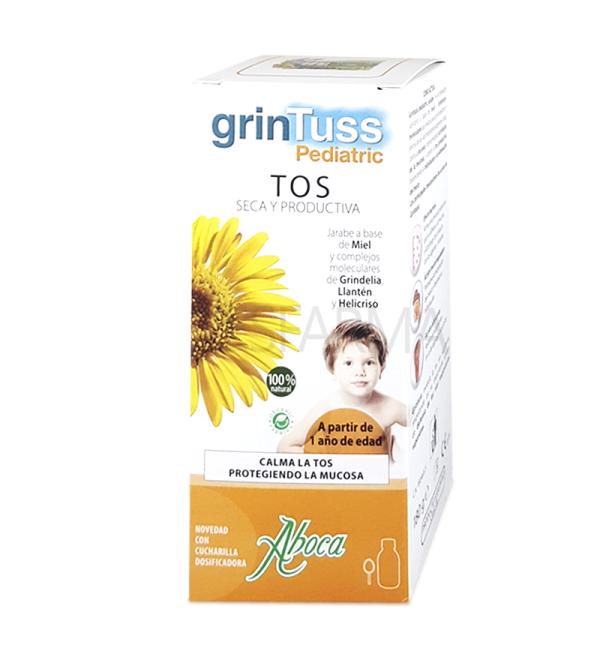 GRINTUSS PEDIATRIC Jarabe Natural Aboca 180g