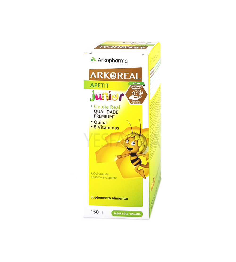 ArkoReal Apetit Junior Jarabe Jalea Real 150 ml