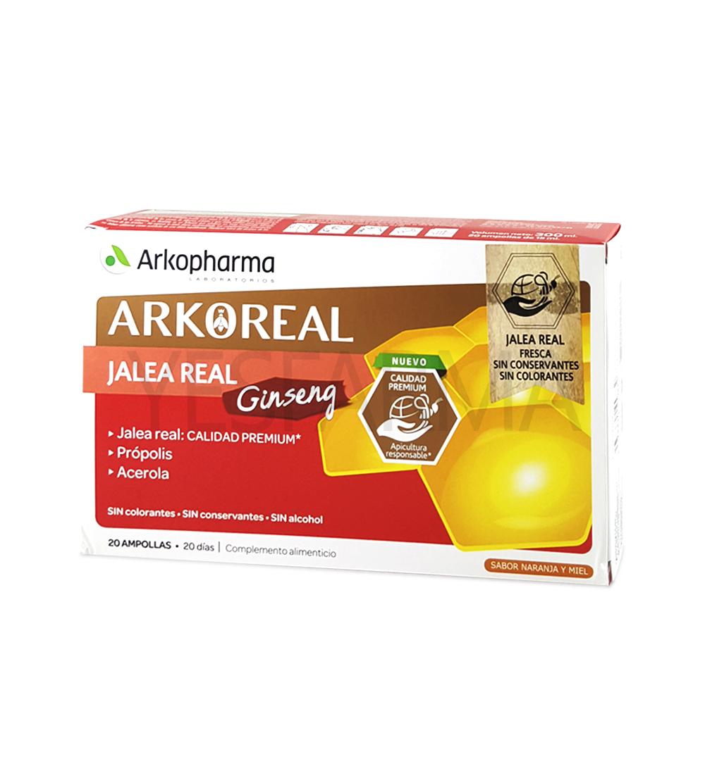 ArkoReal Jalea Real fresca con Ginseng