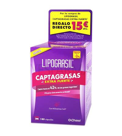 LIPOGRASIL CAPTAGRASAS EXTRAFUERTE 180 CAPS
