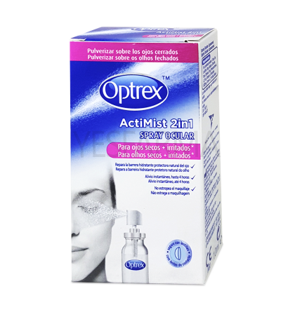 Optrex Actimist Spray 2en1 ojos secos e irritados 10 ml