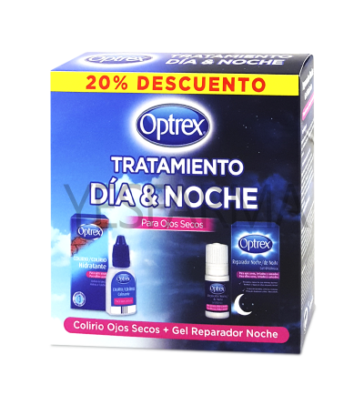 Optrex Day & Night Treatment para olhos secos