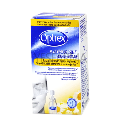 OPTREX ACTIMIST SPRAY 2in1 PARA EL PICOR DE OJOS Y LAGRIMEO