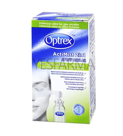 Optrex Actimist spray ocular 2en1 ojos cansados 10ml