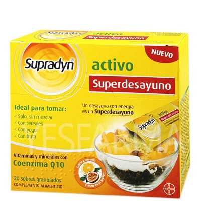 Supradyn activo Superdesayuo 20 envelopes