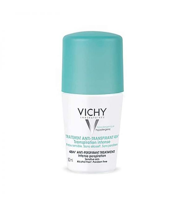 Vichy desodorante anti transpirante 48h roll on 50 ml