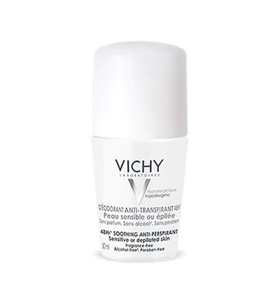 Vichy desodorante pieles muy sensibles roll on 50 ml