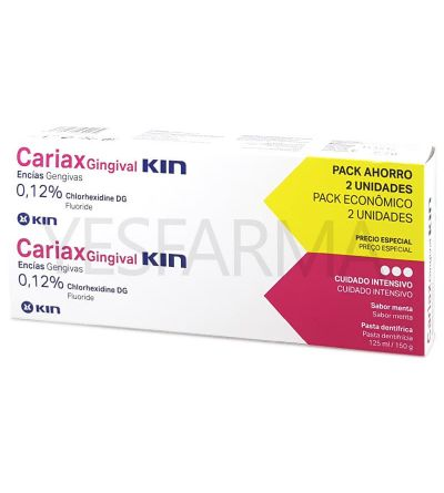 Cariax gingival 125 ml Duplo