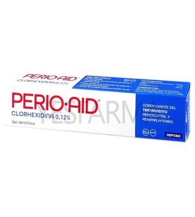 Perio Aid 75ml creme dental é um gel de clorexidina para gengivite, sangramento e inflamação das gengivas.