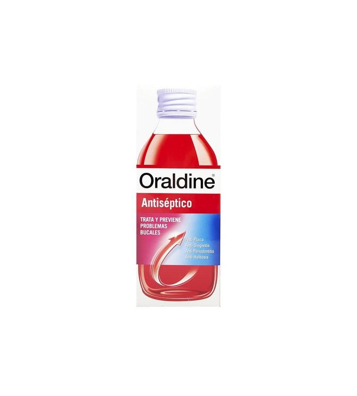 Oraldine anti-séptico bucal é um anti-séptico bucal completo, bactérias e tártaro.