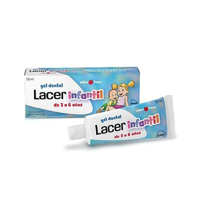 Gel dental Lacer infantil fresa 50 ml