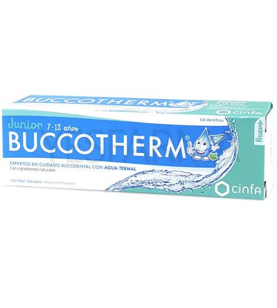 Buccotherm junior gel dentífrico 7-12 años 50ml