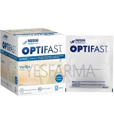 Os novos batidos de baunilha Optifast têm mais proteína e menos açúcar. Dieta perder peso.
