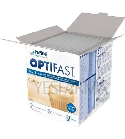 Los nuevos Optifast batidos café 12 sobres tienen su fórmula mejorada. Pierde peso y sigue la dieta con Optifast.