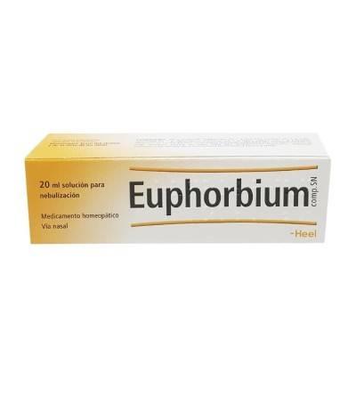 Heel Euphorbium gotas nasales es un spray nasal descongestivo homeopático. Comprar Euphorbium en Farmacia online Yesfarma.