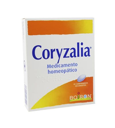 Boiron Coryzalia es un medicamento homeopático para tratar la congestión nasal. Comprar Coryzalia Farmacia Yesfarma.