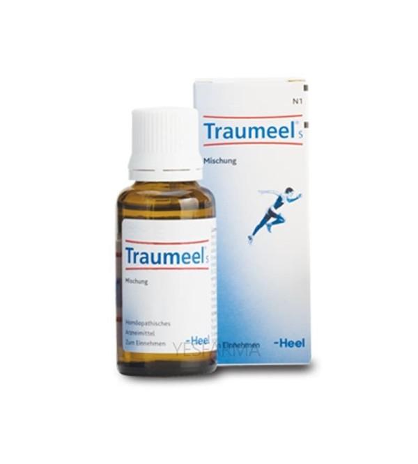 Comprar Heel Traumeel S en gotas o ampollas como antiinflamatorio natural. Comprar Traumeel y más homeopatía en Yesfarma.