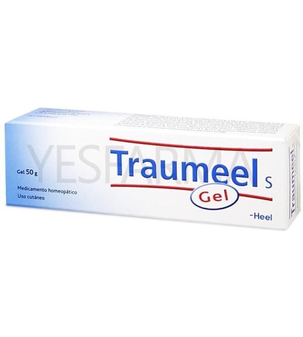 Comprar Heel Traumeel gel 50g antiinflamatorio natural con arnica montana. Farmacia Yesfarma mejor precio barato.