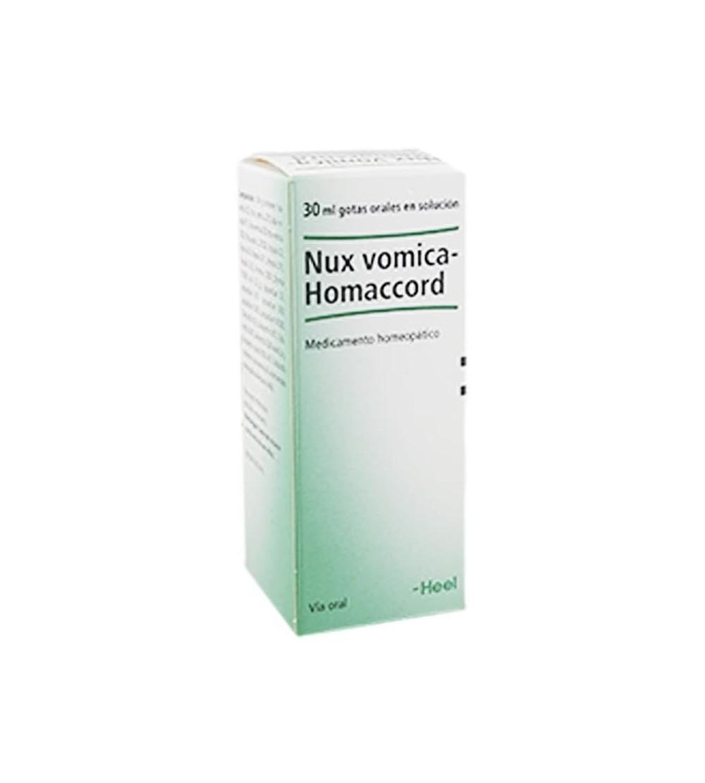 Comprar Heel Nux Vomica Homaccord para depurar el organismo con depurador natural homeopático. Mejor precio barato Yesfarma.