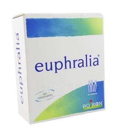 Comprar Euphralia de Boiron. Colirio natural homeopático con Eufrasia para molestias ojo. Mejor precio Yesfarma.