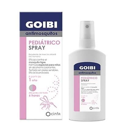 Comprar Goibi antimosquitos pediátrico spray repelente 100ml. Comprar Goibi mosquitos.