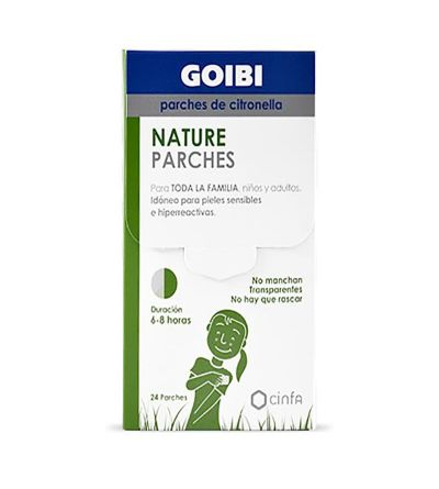 Goibi Nature parches de citronela antimosquitos 24 uds