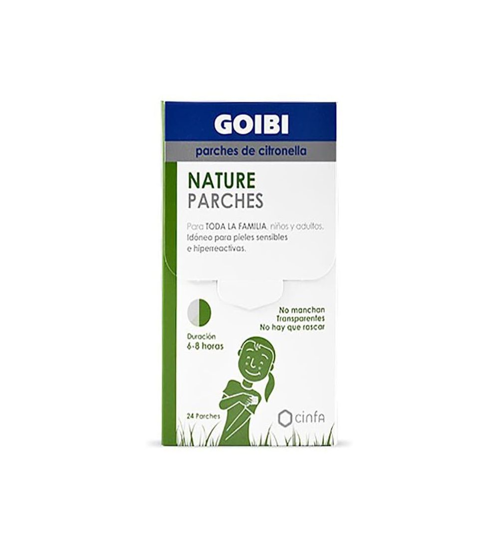 Comprar Goibi nature parches de citronela antimosquitos. Comprar parches para mosquito Yesfarma.