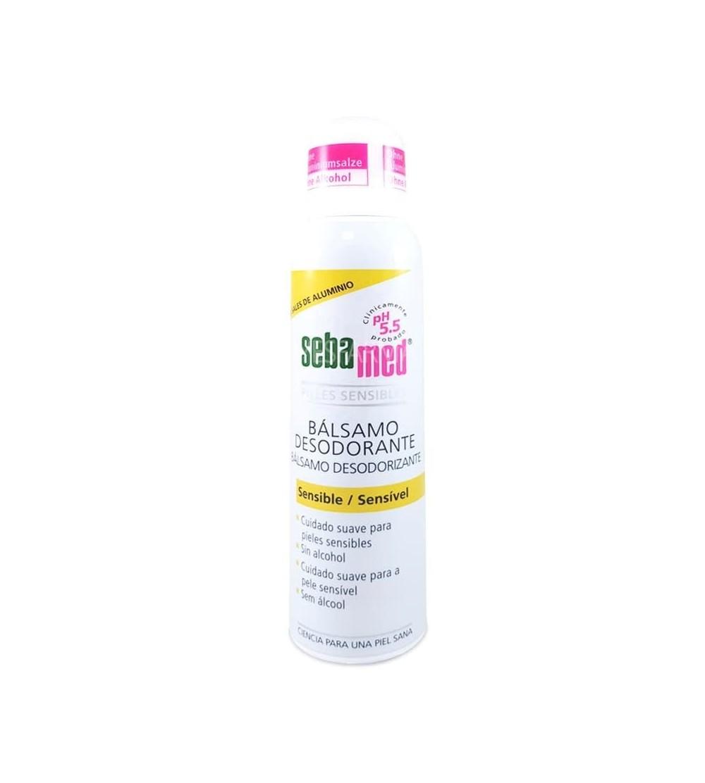 Comprar Sebamed bálsamo desodorante spray sin aluminio. Desodorante antitranspirante mejor precio barato Farmacia Yesfarma.