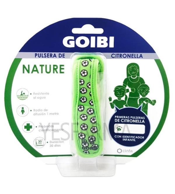 Comprar pulsera antimosquitos de citronela Goibi Nature. Repelente natural mosquitos mejor precio barato Farmacia Yesfarma.