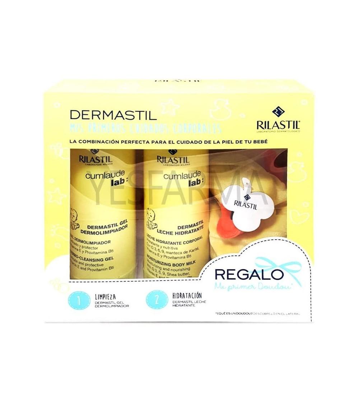 Comprar Dermastil Pack Mis primeros cuidados corporales Rilastil. Lo mejor para tu bebé al mejor precio barato Farmacia online Y