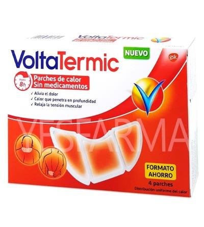 Comprar VoltaTermic 4 parches de calor al mejor precio barato en Farmacia online Yesfarma.