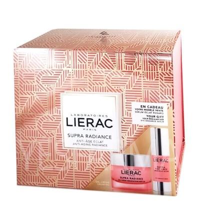 Comprar Cofre de Navidad Lierac Supra Radiance gel-crema y sérum al mejor precio en Farmacia Yesfarma.