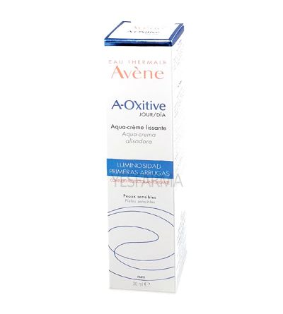 Comprar Avène A-Oxitive aqua-crema antioxidante 30ml. Crema alisadora de Avène mejor precio Yesfarma.