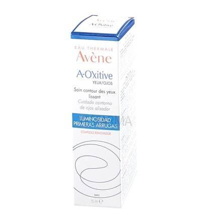 Comprar contorno de ojos alisador Avène A-Oxitive 15ml. Mejor precio barato Avène A-Oxitive Farmacia Yesfarma.